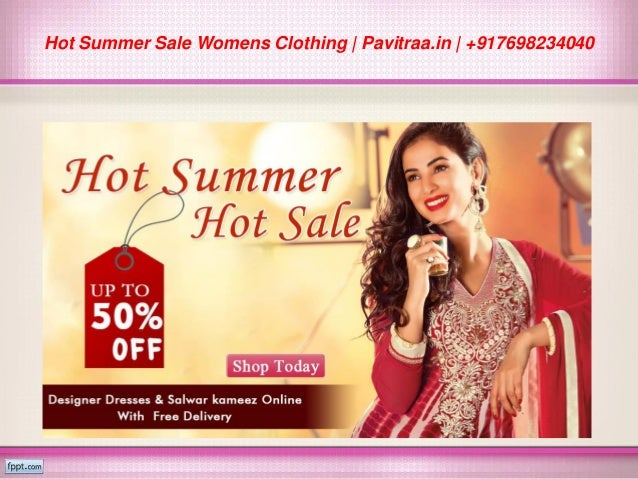 Summer clothing sales online