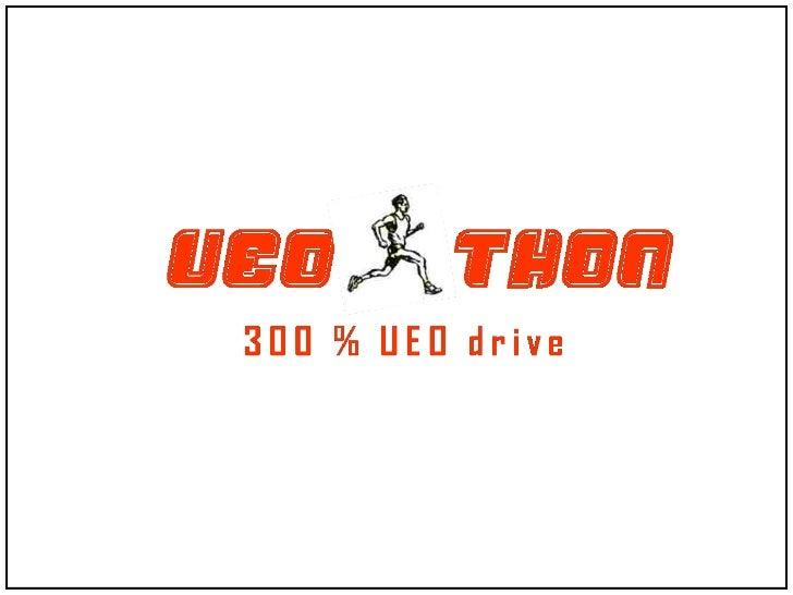 UEO-thon event