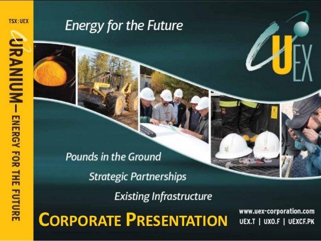 Corporate Presentation March 2014