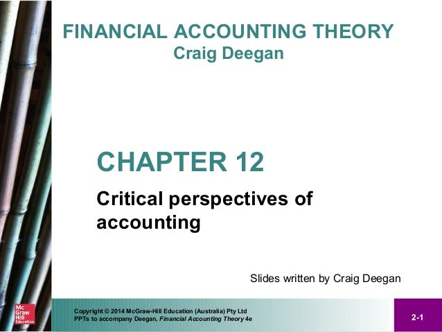 financial accounting theory case 3 5 Cp5–5 using financial reports: analyzing research in motion's statement of cash flows lo2, 3, 4, 5, 6 research in m.