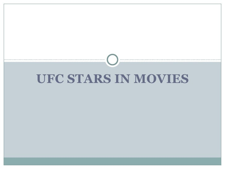 Ufc In Movies