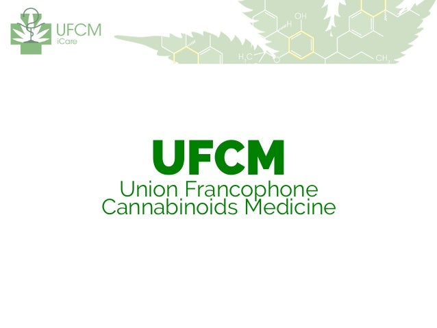 UFCM - French Medical Cannabis Charity 2104 Strategy