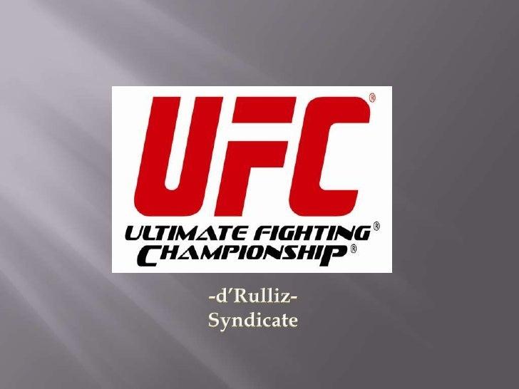 Ufc (ultimate fighting championship)