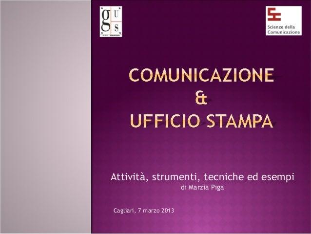 Comunicazione & ufficio stampa