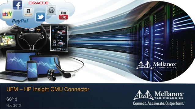 UFM – HP Insight CMU Connector SC'13 Nov 2013