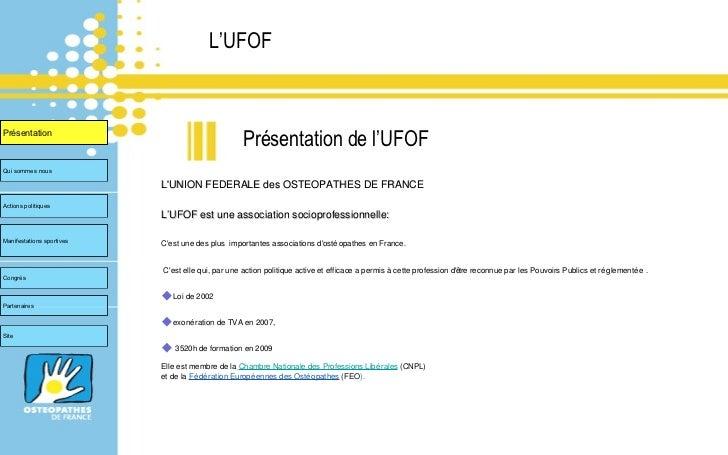 UFOF Congrès Européen