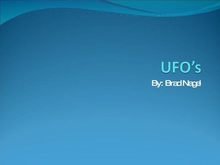 Ufo'S Done