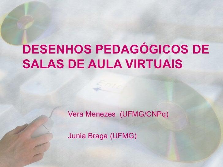 DESENHOS PEDAGÓGICOS DE SALAS DE AULA VIRTUAIS
