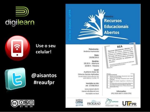@aisantos #reaufpr Use o seu celular!