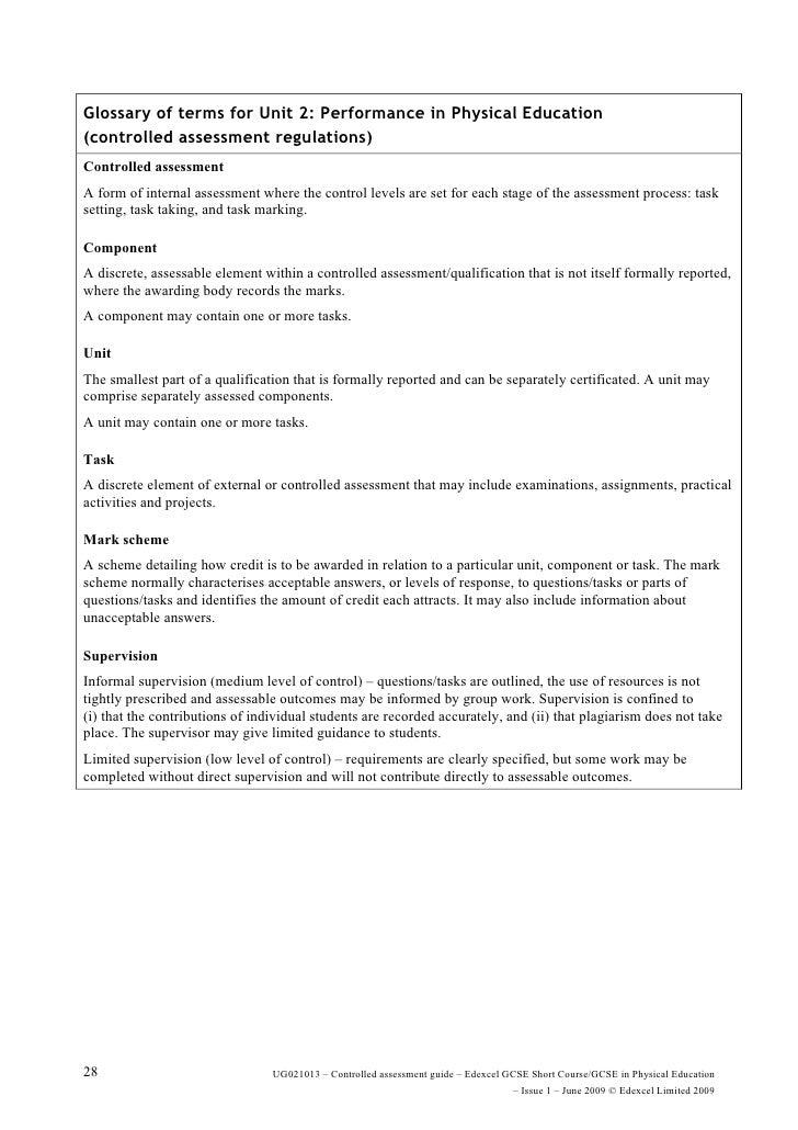 Original writing gcse coursework