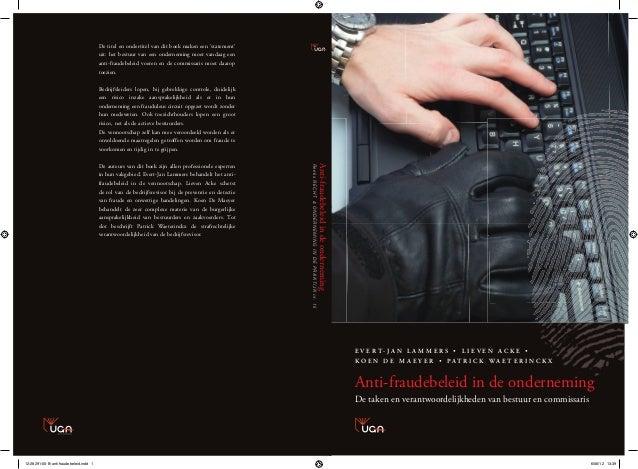 De titel en ondertitel van dit boek maken een 'statement'                                         uit: het bestuur van een...