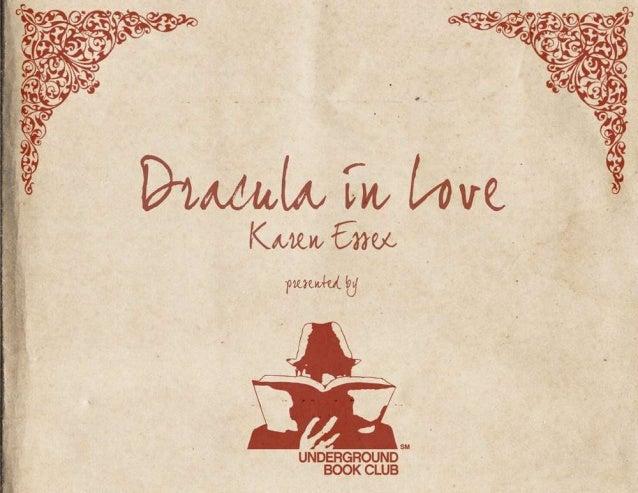 Underground Book Club: Dracula in Love