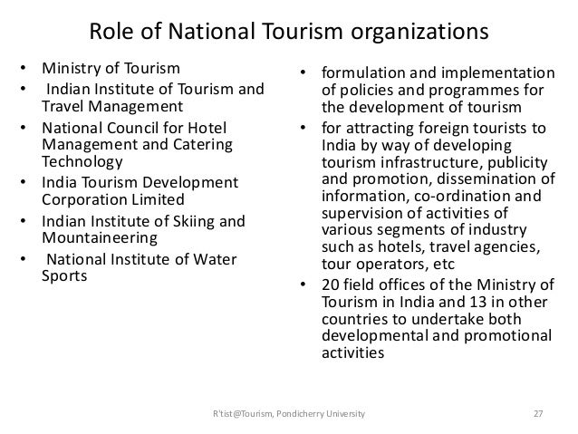 the role of hospitality and tourism in the development of a country This study uses the case study of kenya to analyse the role of government in the development of tourism in the third world usually, government involvement in the development of tourism reflects on the uniqueness and peculiarity of the tourism industry by its nature, the development and provision.