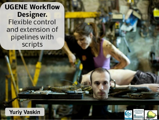 UGENE Workflow Designer. Flexible control and extension of pipelines with scripts
