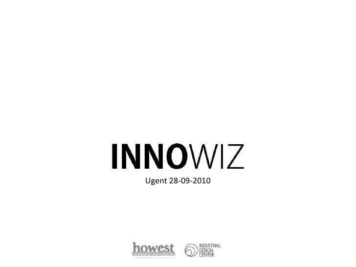 INNOWIZ @ UGent 28-09-10