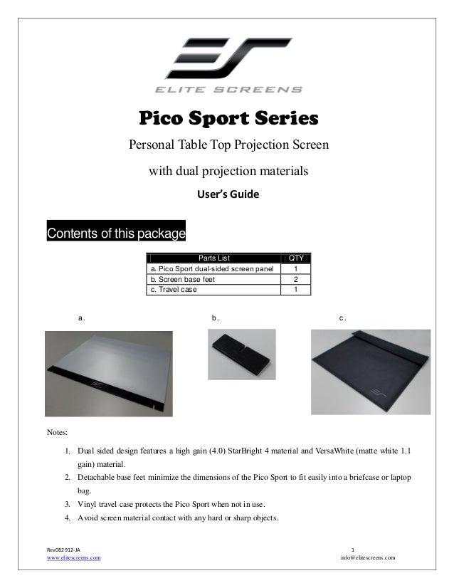 Ug pico sport_series