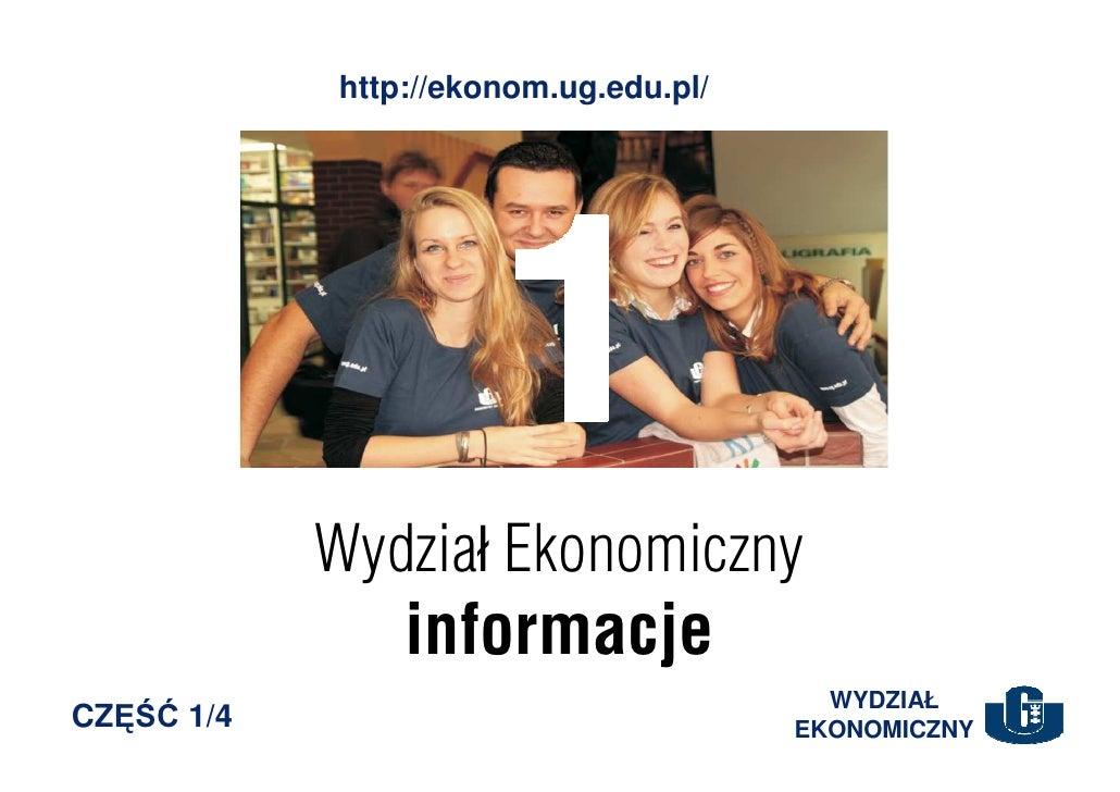http://ekonom.ug.edu.pl/                 Wydział Ekonomiczny                 informacje                                   ...