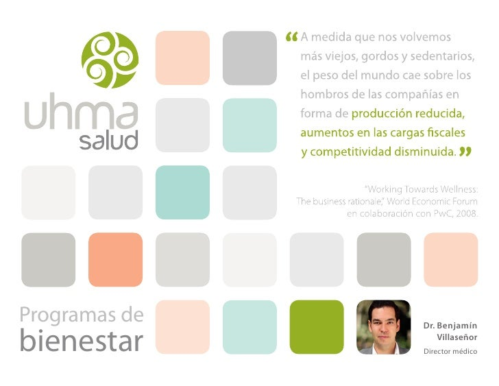 Programas de   Dr. Benjamínbienestar          Villaseñor               Director médico