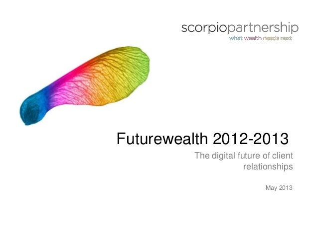 Uhnw and hnw engagement futurewealth - the digital future of client relationships