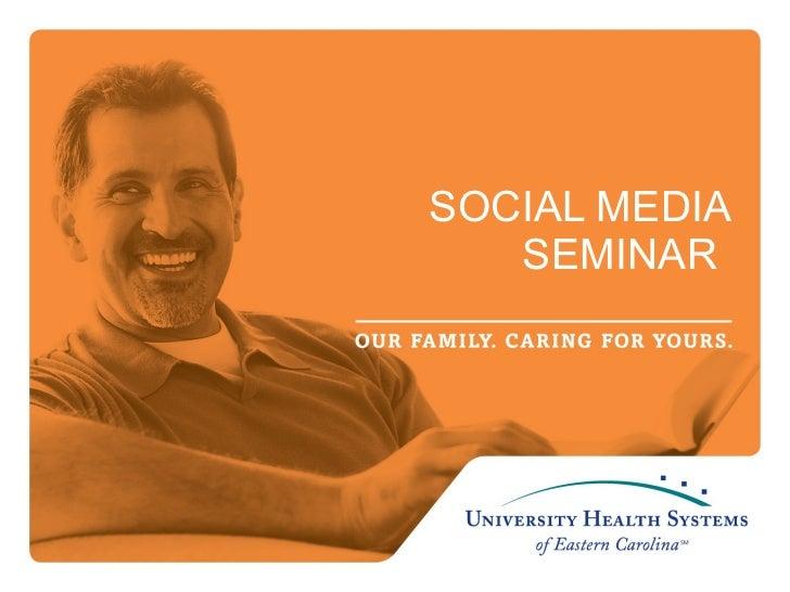 UHS Social Media Training