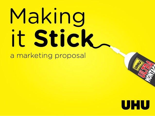 Makingit Sticka marketing proposal