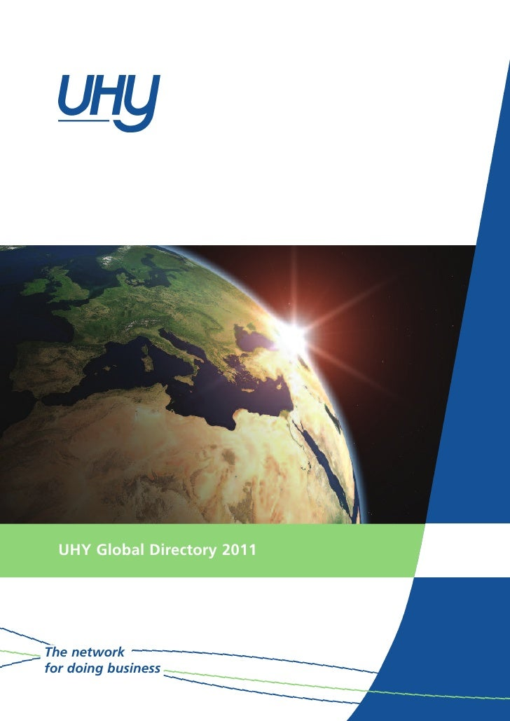 UHY Global Directory 2011The networkfor doing business