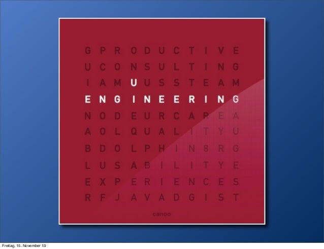 UI Engineer - the missing profession, devoxx 2013