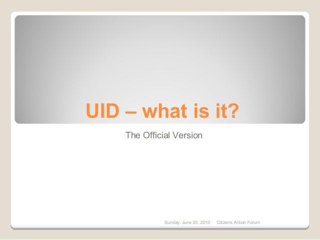 """UID, branded, """"Aadhaar"""" - The deceit of the UIDAI Database"""