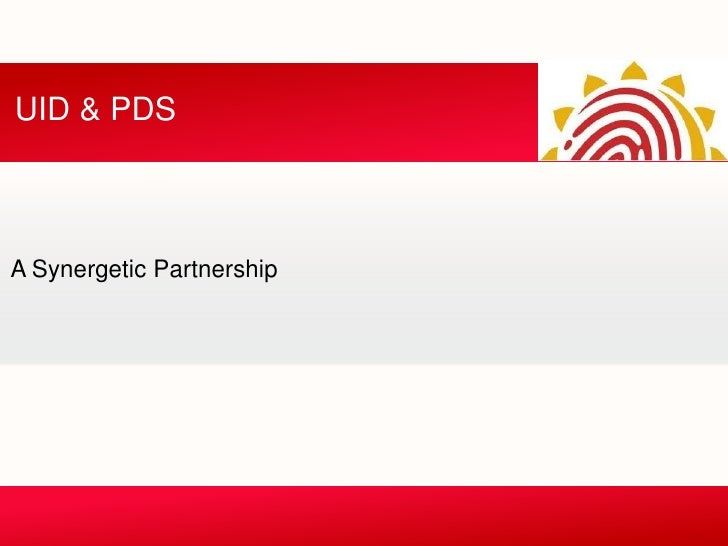 UID & PDSA Synergetic Partnership