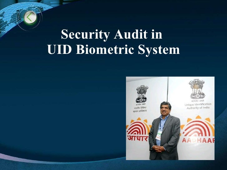 Security Audit in  UID Biometric System