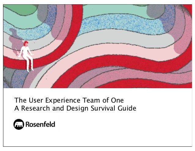 The User Experience Team of OneA Research and Design Survival Guide