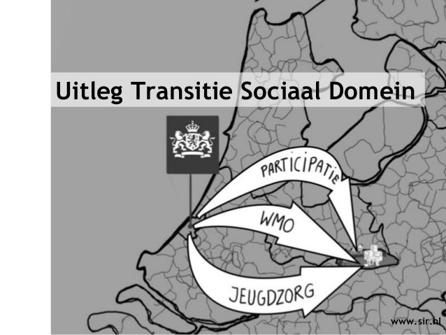 Context Sociaal Domein www.sir.nl Uitleg Transitie Sociaal Domein