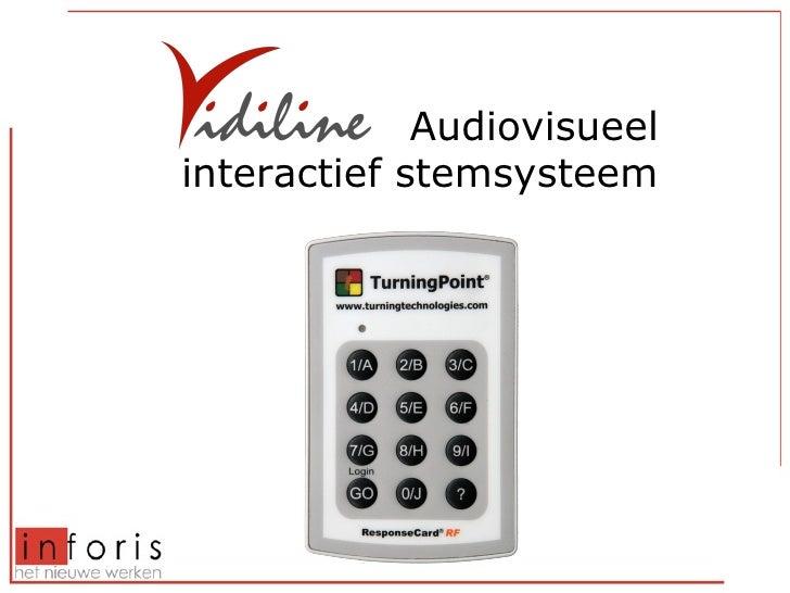 Audiovisueel interactief stemsysteem