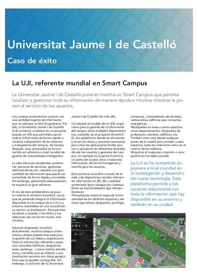 La Universitat Jaume I