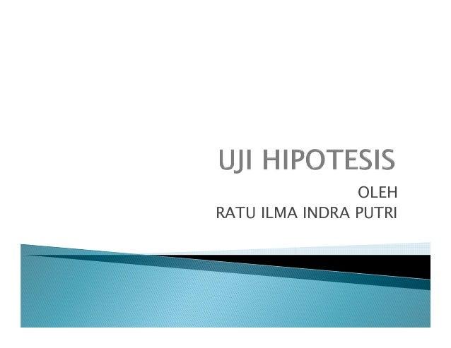 Uji hipotesis dan uji hipotesis 1_ratarata