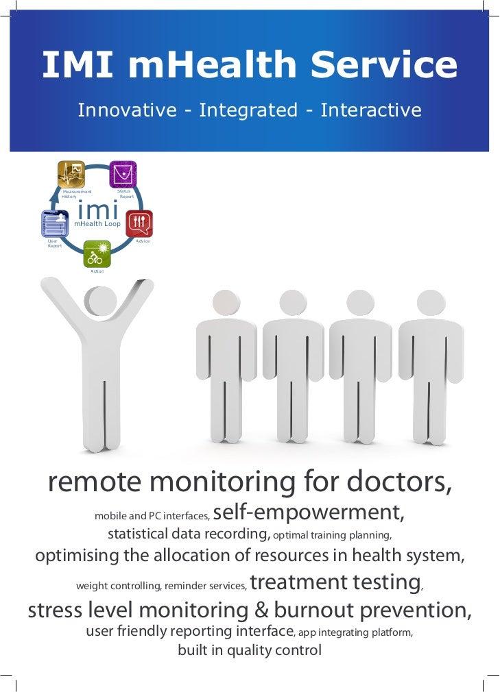 IMI mHealth Service            Innovative - Integrated - Interactive       Measurement         Status            imi      ...