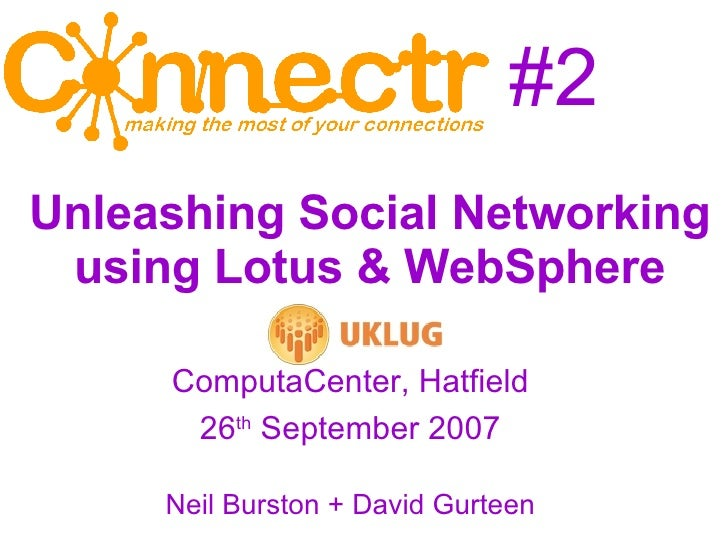#2 <ul><ul><li>ComputaCenter, Hatfield </li></ul></ul><ul><ul><li>26 th  September 2007 </li></ul></ul><ul><ul><li>Neil Bu...