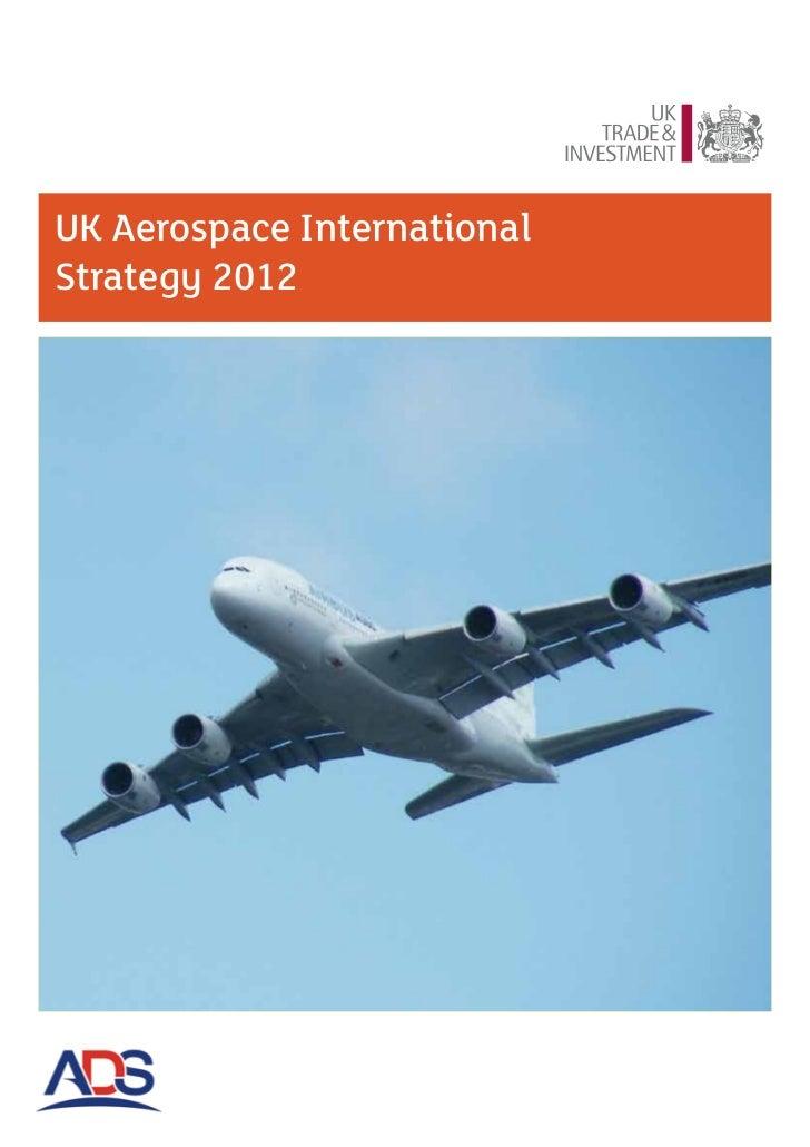 UK Aerospace InternationalStrategy 2012