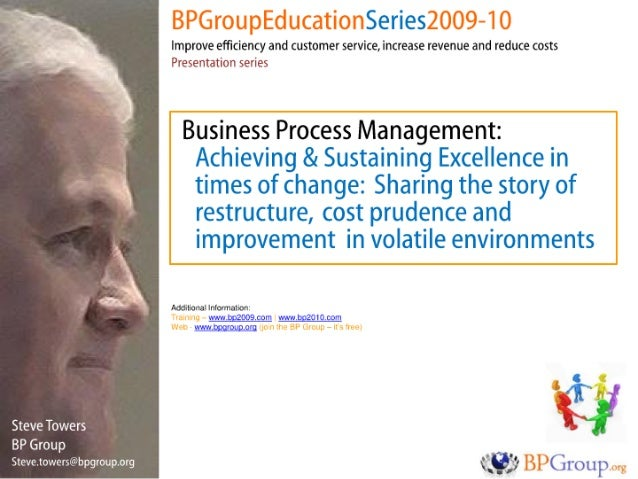 BPM success in difficult times