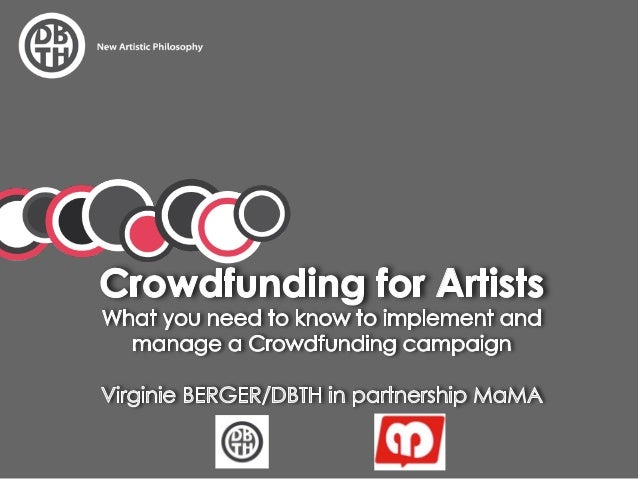 How to manage Crowdfunding for artists and musicians