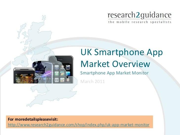 UK Smartphone App                                   Market Overview                                   Smartphone App Marke...