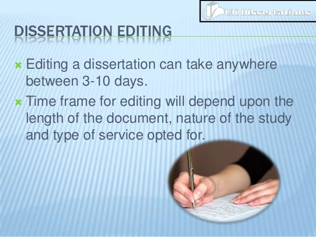 Define dissertion