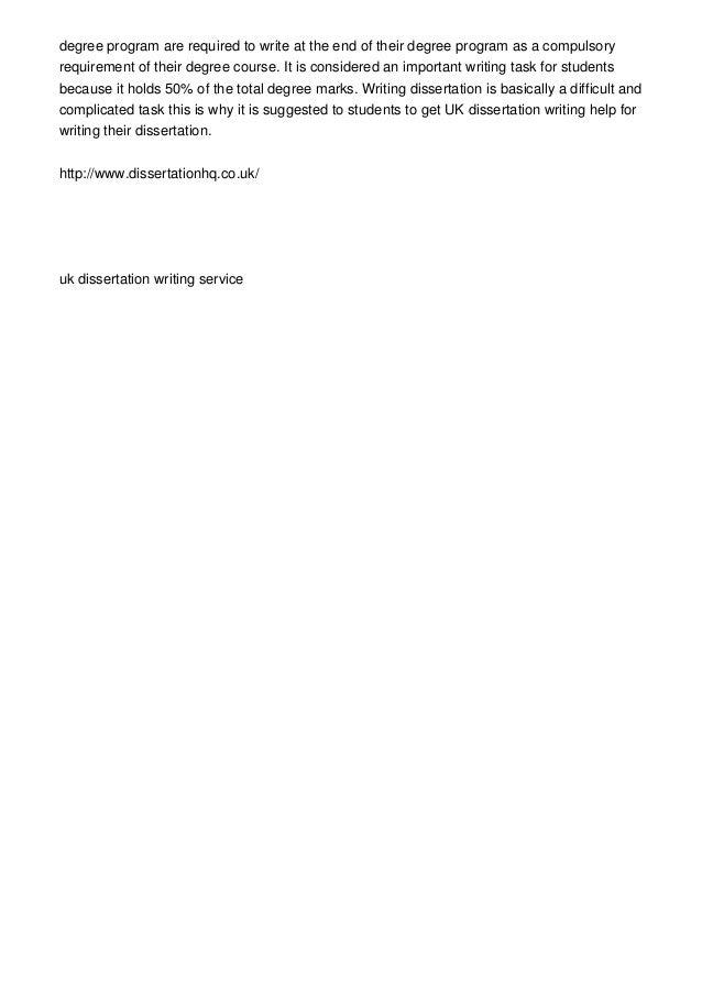 About dissertation