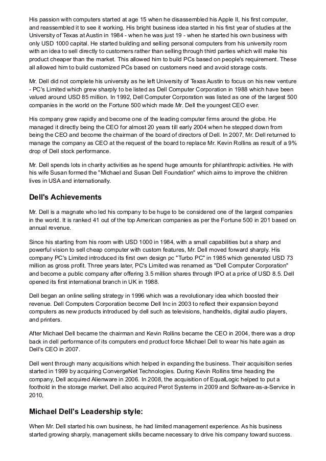 Essay Leadership Style Paper