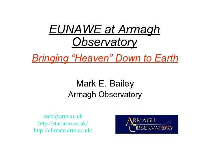 EUNAWE UK Presentation