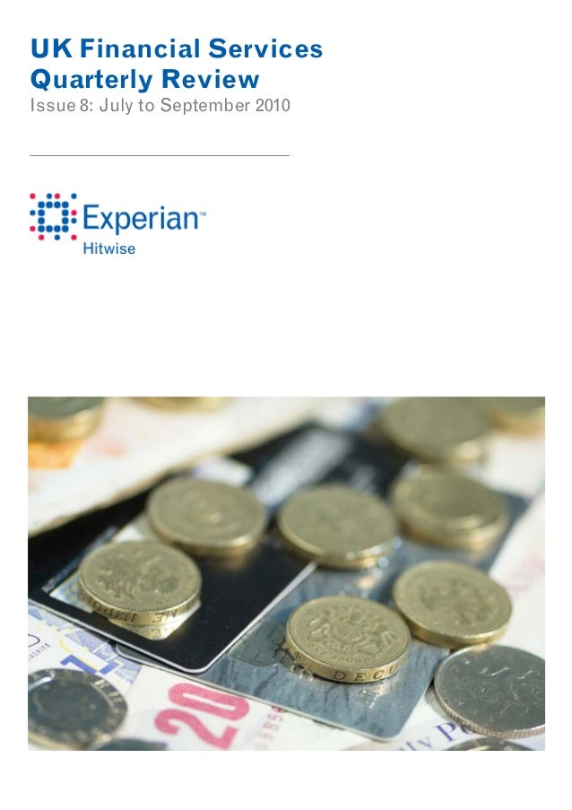 UK Financial Services Quarterly Review Issue 8: July to September 2010