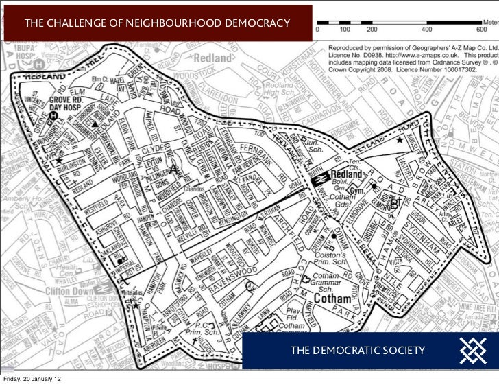 THE CHALLENGE OF NEIGHBOURHOOD DEMOCRACY                                                  THE DEMOCRATIC SOCIETYFriday, 20...