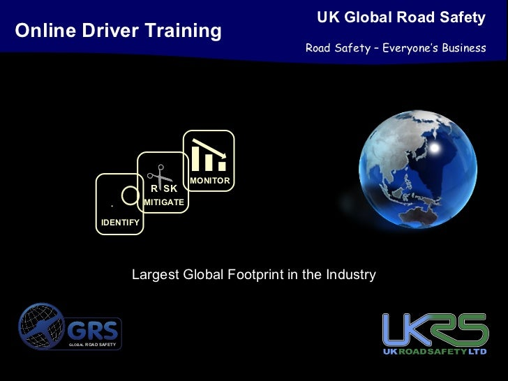 UK Global Road SafetyOnline Driver Training                                                      Road Safety – Everyone's ...