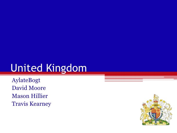 United Kingdom<br />AylateBogt<br />David Moore<br />Mason Hillier<br />Travis Kearney<br />