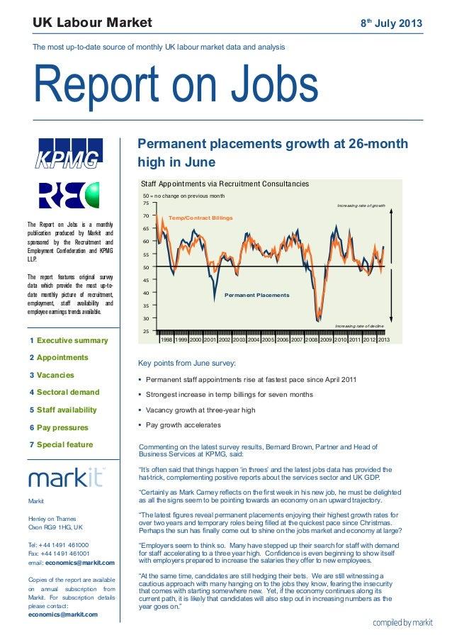 Uk job market update - Demand for staff rises at strongest